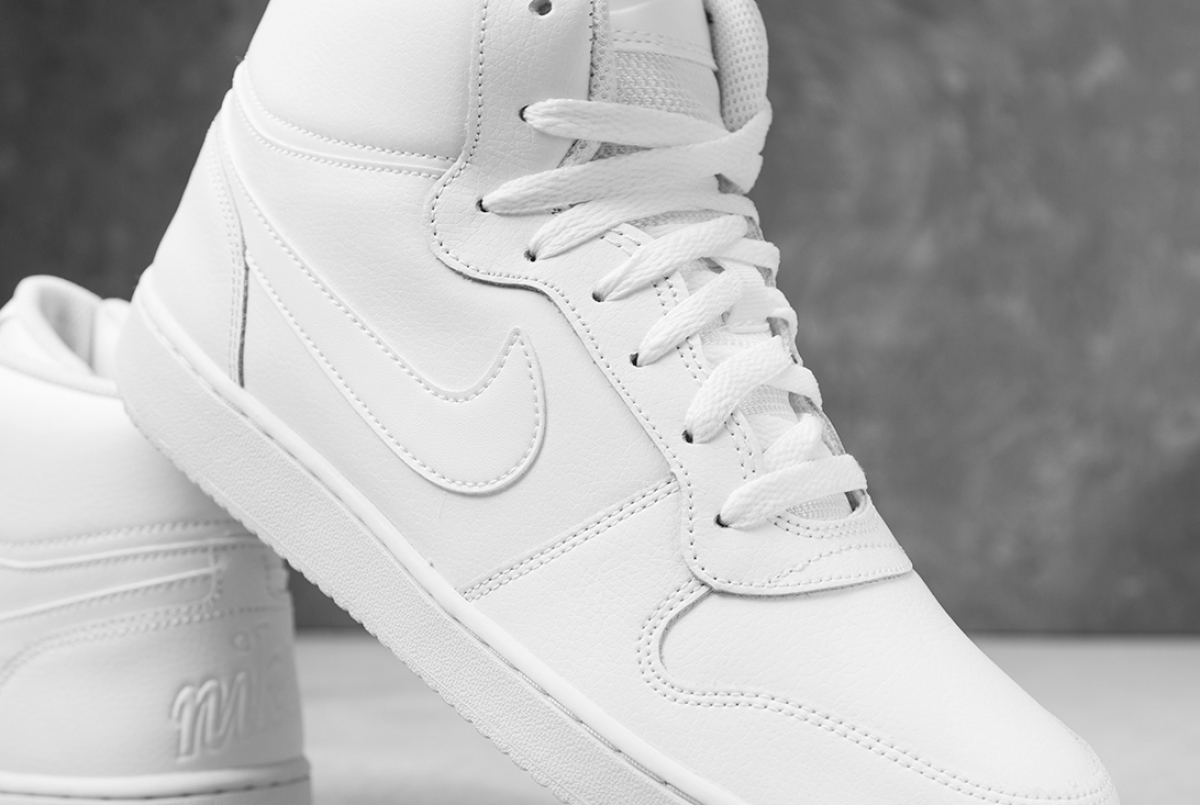 Nike Sneakers Sport Shoes Sportswear White Ebernon mid lifestyle  4a7682457ca