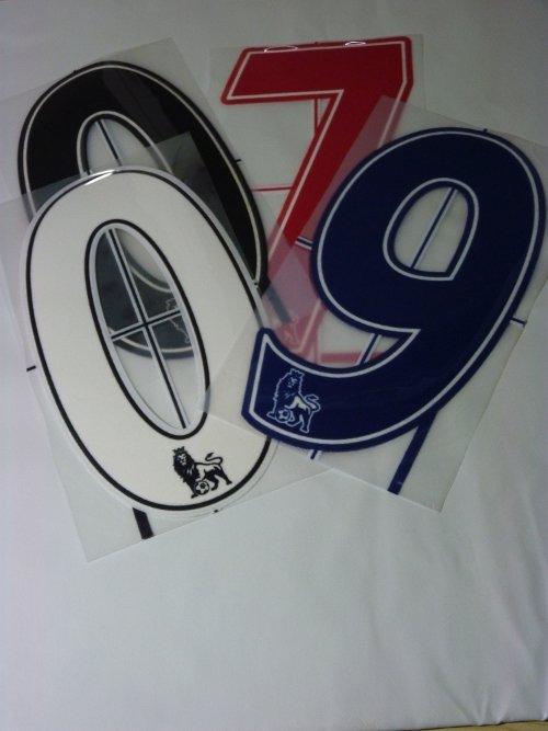 Premier-League-Team-Kit-Number-Lextra-Flock-on-choice-x-football-shirt-tg-07-1