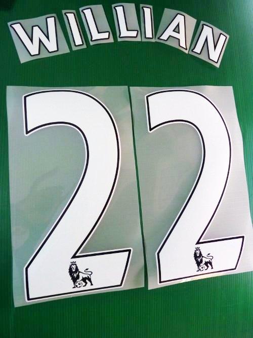 e1c071f9fc6 Chelsea Fc Printing Nameset x maglia calcio PS PRO Home 2013 14 ...