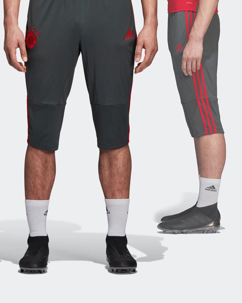 Bayern-Munchen-Adidas-Pantaloncini-Shorts-Hose-3-4-Pants-Carbon-2018-19