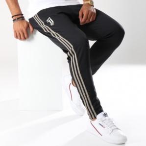 cbb54ea8b2e ... Pantaloni Tuta Allenamento JUVENTUS Originale adidas Uomo 2018 19 Nero  Tasche con zip - Training Pants ...