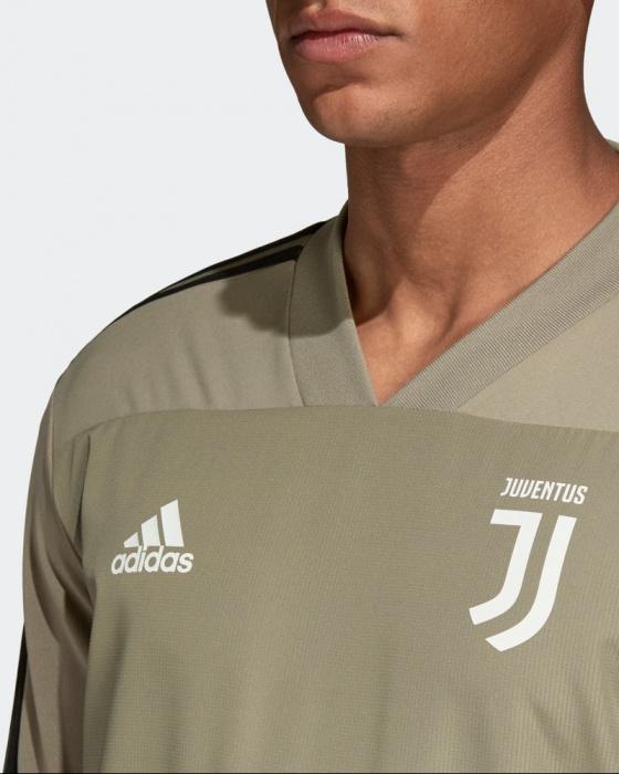 Détails sur Juventus Fc Adidas Felpa Allenamento Training Top Beige 2018 19