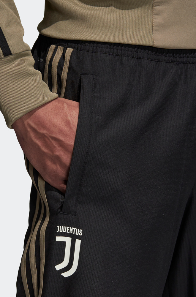 Juventus Fc Adidas Pantaloni tuta Rappresentanza Pres pants 2018 19 Woven  Nero 4 4 di 8 ... 196eb7e4fa32
