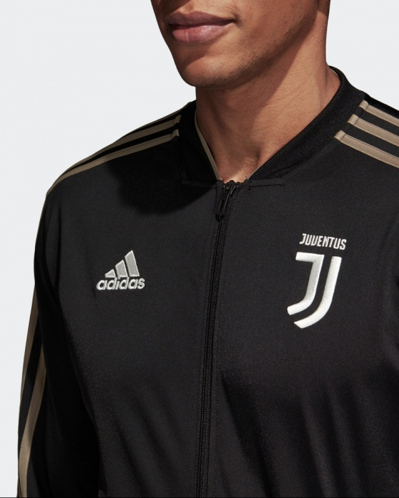 Adidas hombres d negro-traje de chaqueta negro Original Banco versión Pes  2018 19 JUVENTUS ... 109a63e54f7c0