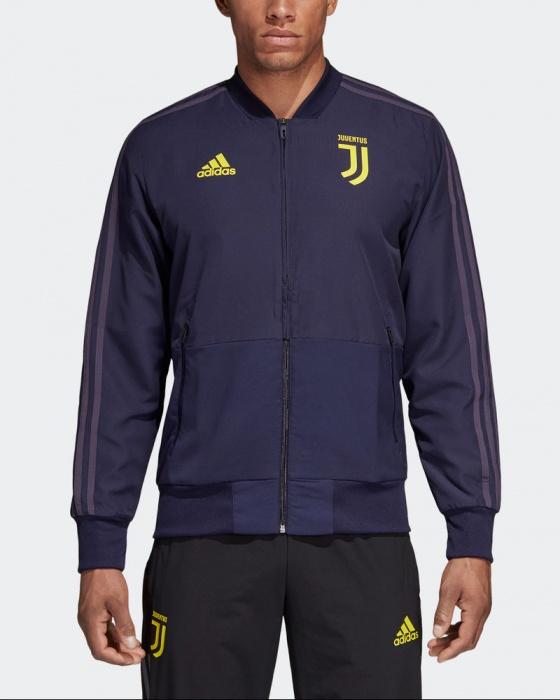 Giacca Rappresentanza FC JUVENTUS adidas UEFA CHAMPIONS LEAGUE Uomo 2018 19  Viola Originale - Presentation Jacket ... d0fc623299dc