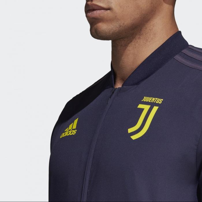 5083beed9f24bd ... Giacca Rappresentanza FC JUVENTUS adidas UEFA CHAMPIONS LEAGUE Uomo  2018 19 Viola Originale - Presentation Jacket ...