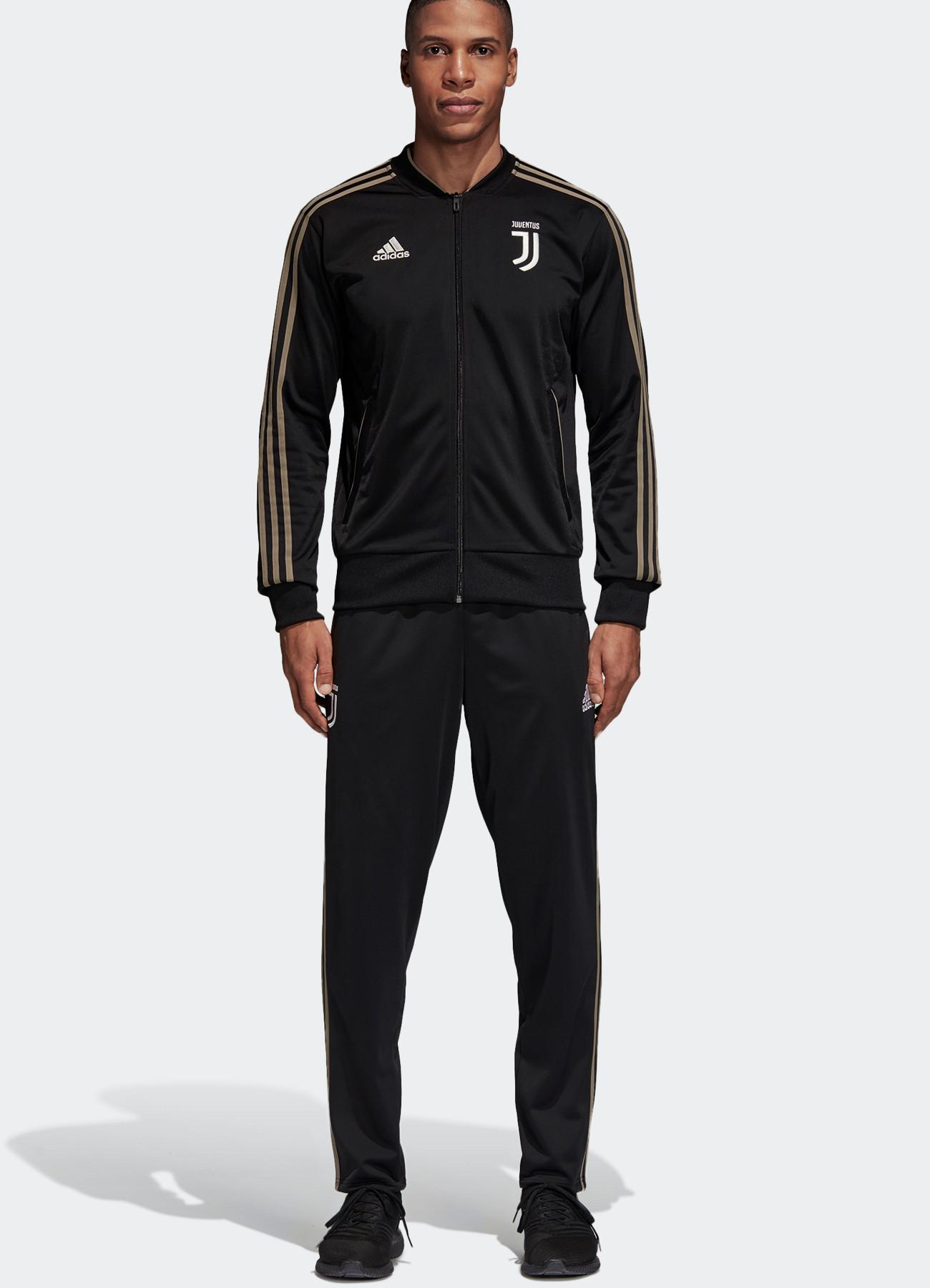 Juventus Turin Adidas Survetement Training 2018 19 19 2018 Pes Bench Version Noir 548de0