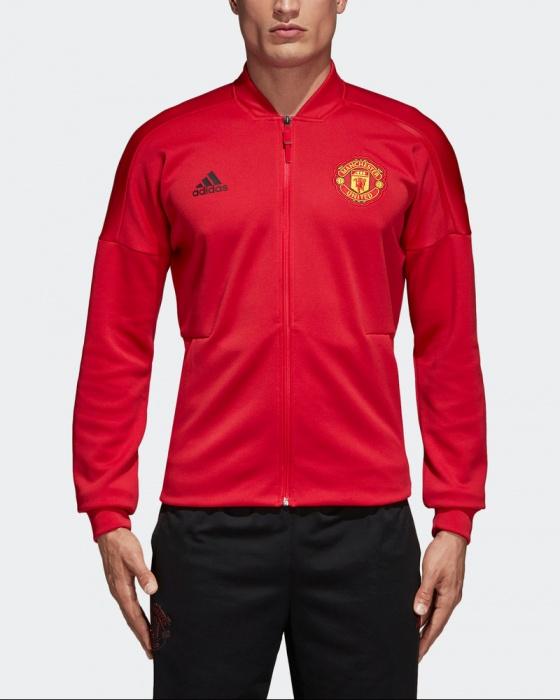Manchester United Adidas Pre match Jacket Red Anthem Zone