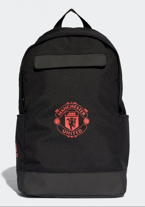 Manchester Dos Noir United A Unisex Tg Backpack Rucksack Sac Adidas rwIzPqr