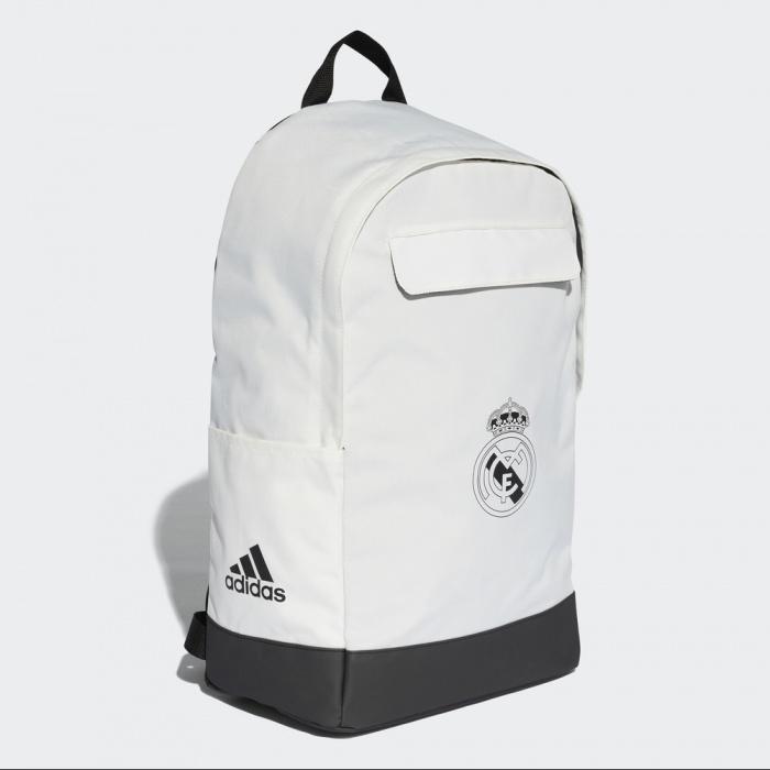 1bc159872f Zaino BACKPACK TW Real Madrid Adidas Originale 2018 19 Bianco - Backpack TW  Real Madrid Adidas ...
