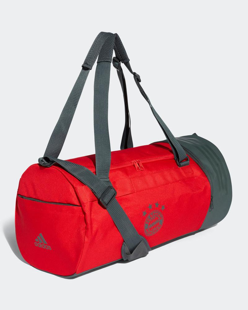 39d156a13b Bayern Munchen Adidas Sac a dos Holdall Duffle bag tg Rouge Team Bag ...