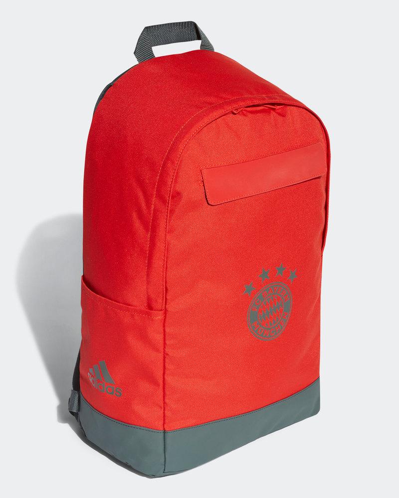 Competente Bayern Monaco Adidas Zaino Backpack Rucksack Tg Rosso 2018 19 Essere Accorti In Materia Di Denaro
