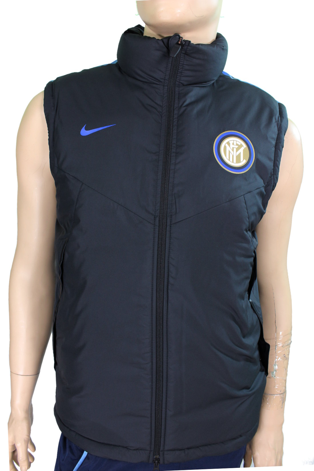 inter mailand nike daunenjacke padded winterjacke jacket. Black Bedroom Furniture Sets. Home Design Ideas