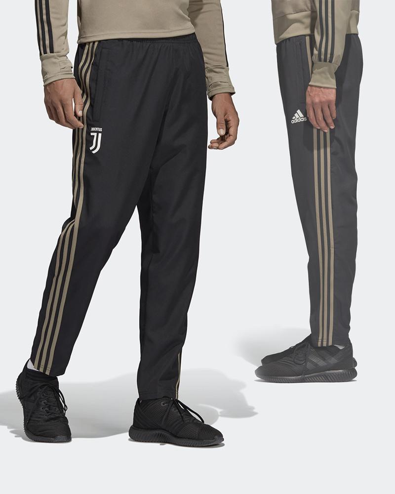 Juventus-Fc-Adidas-Pantaloni-tuta-Rappresentanza-Pres-pants-2018-19-Woven-Nero