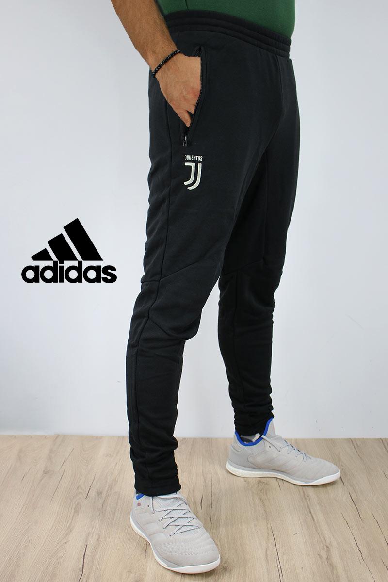 Juventus Adidas Pantalones traje 18 19 Temporada Ofertas especiales black Algodón