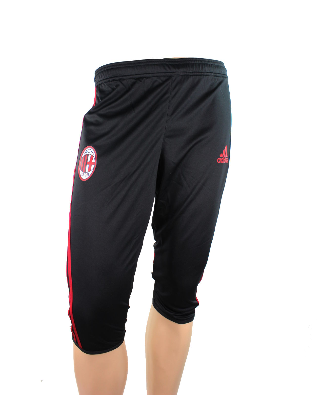 ac milan adidas pantaloncini shorts hose 3 4 pant 2014 15 training training me. Black Bedroom Furniture Sets. Home Design Ideas