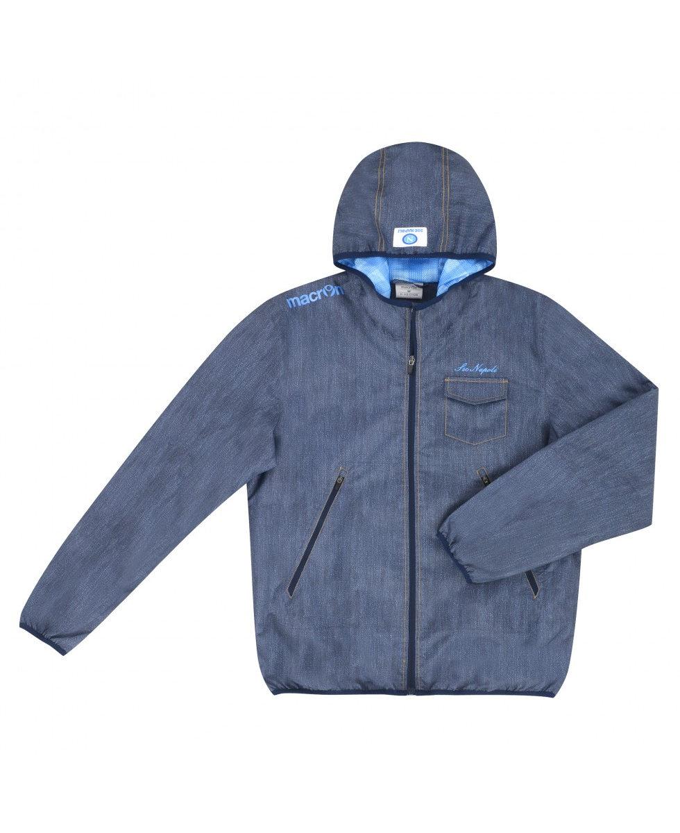 kway ssc napoli naples macron vent veste pluie wind rain jacket 2014 15 homme ebay. Black Bedroom Furniture Sets. Home Design Ideas