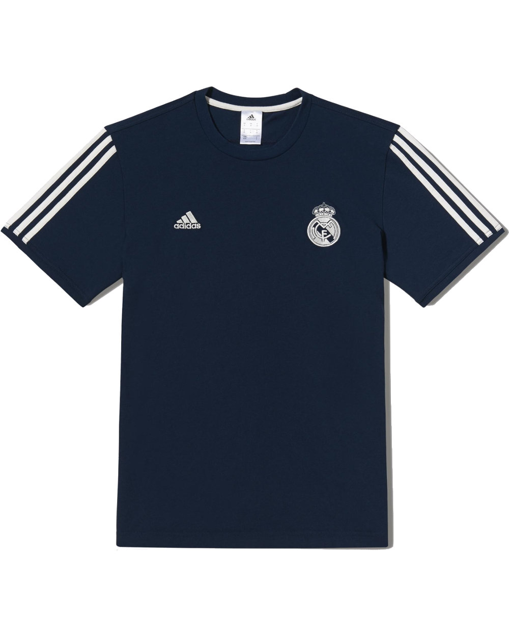 core tee real madrid adidas t shirt tempo libero 2014 15 blu cotone ebay. Black Bedroom Furniture Sets. Home Design Ideas