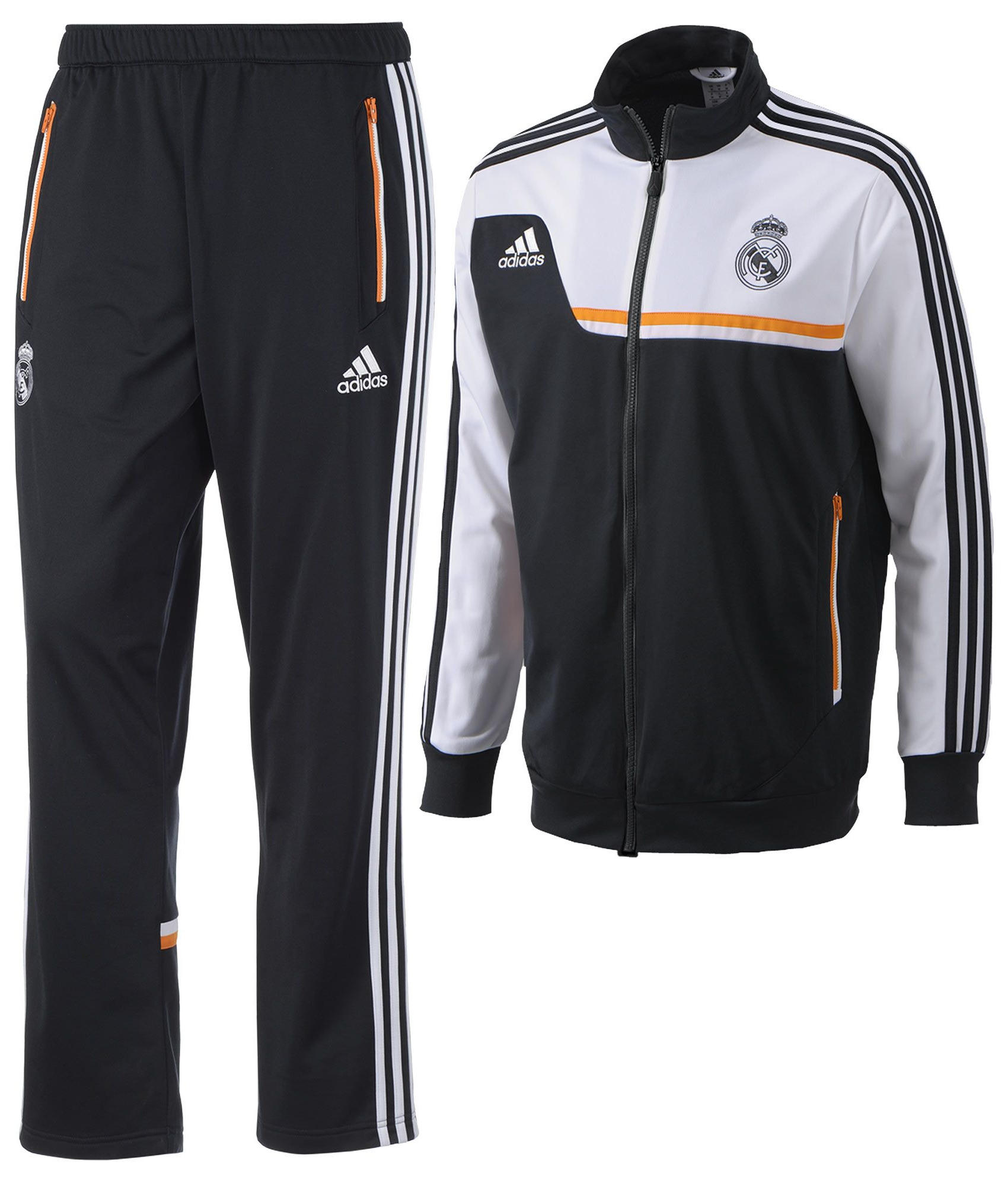pes suit real madrid adidas training trainingsanzug 2013. Black Bedroom Furniture Sets. Home Design Ideas