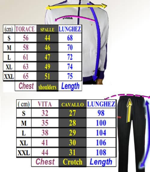 Gladiator-Campus-II-Joma-Tuta-Allenamento-Training-Tracksuit-mezza-zip-Uomo miniatura 2