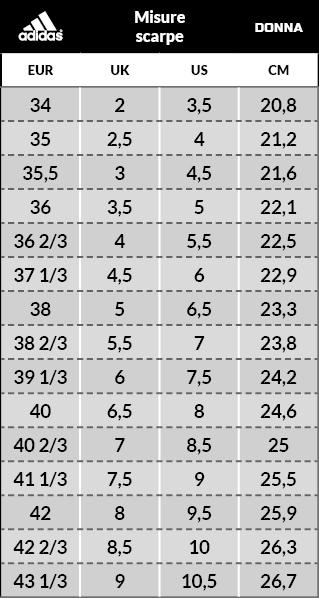 scarpe calcio adidas numeri
