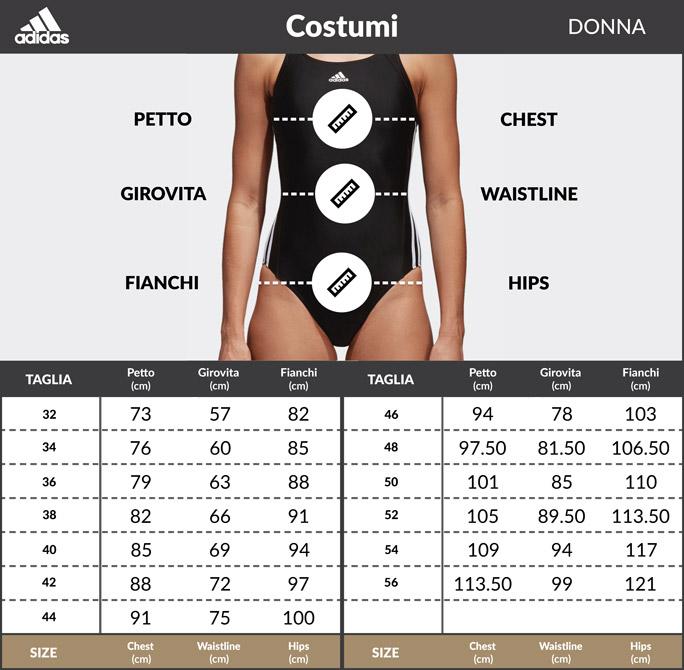 miniatuur 2 -  Adidas Costume da Bagno SH3.RO TAPER S intero Donna Nero Infinitex Fitness Eco