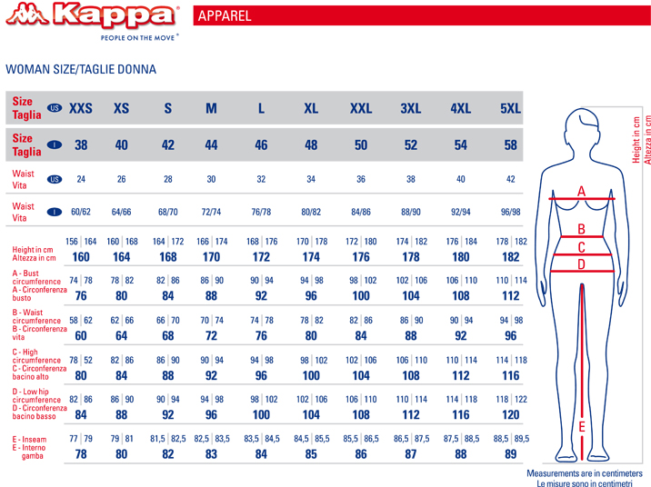 Kappa-Pantaloni-tuta-Pants-sweat-cuff-Donna-cotone-Wincan-con-tasche miniatura 2