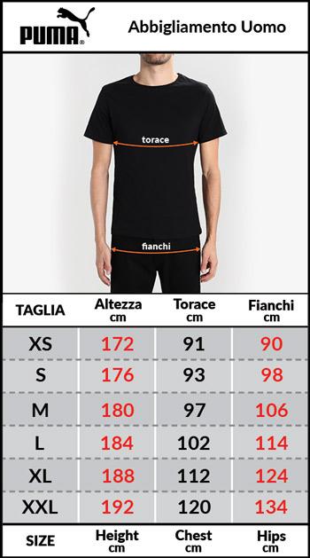 Tabella taglie e misure Giaccone Piumino Giubbotto AC MILAN Padded Versione panchina Lungo Originale Uomo 2018 19 Nero
